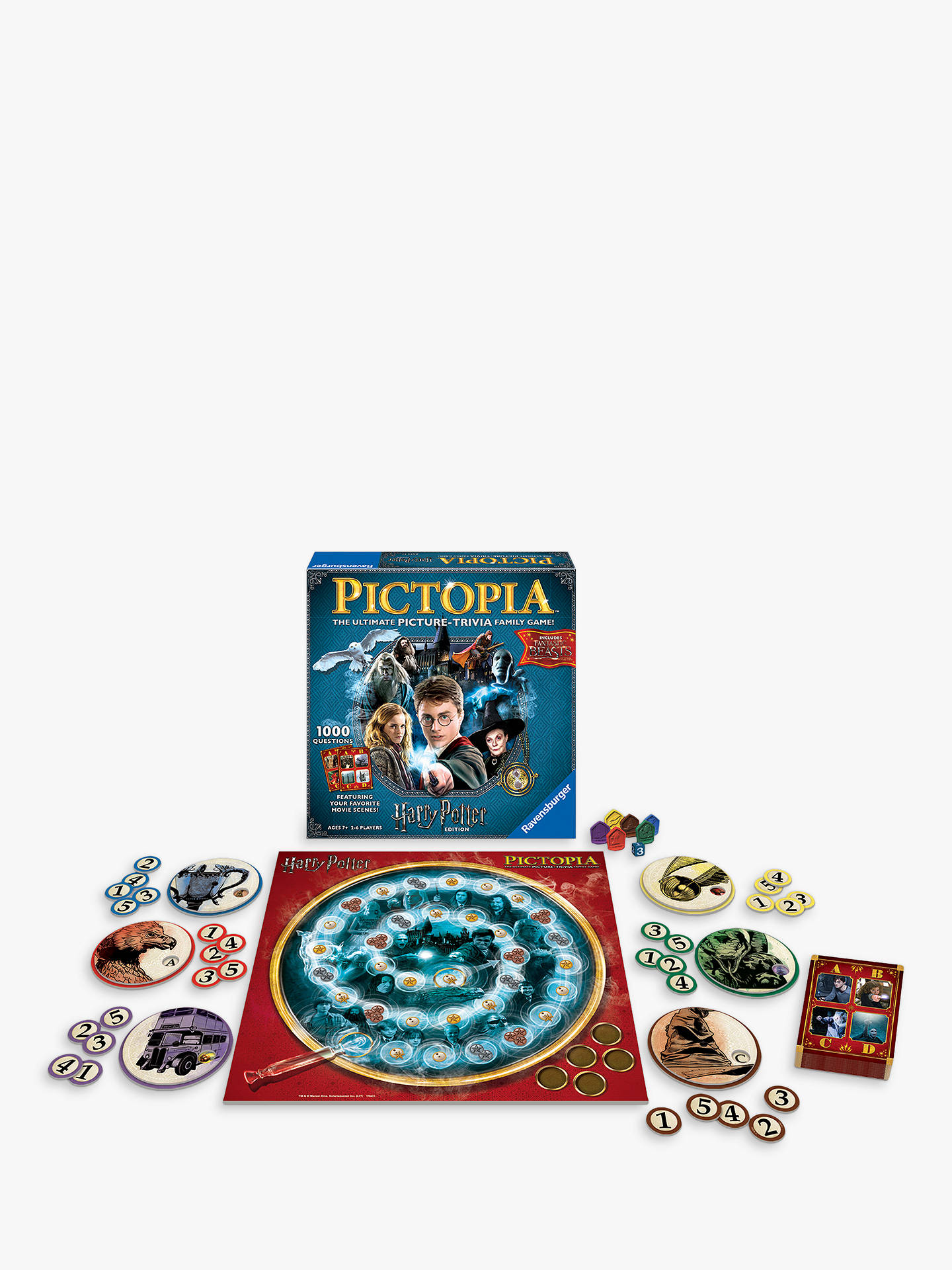 Buy Ravensburger Harry Potter Pictopia Online at johnlewis.com