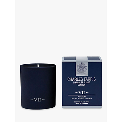 Charles Farris Signature Pinetum Jar Candle, Navy