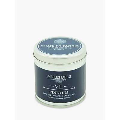 Charles Farris Signature Pinetum Tin Scented Candle, 311g