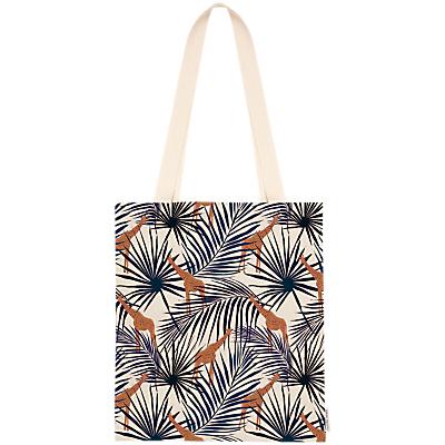 Fenella Smith Giraffe & Palm Tote Bag