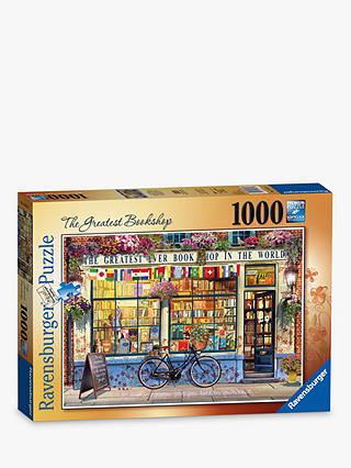 Buy Ravensburger The Greatest Bookshop Jigsaw Puzzle, 1000 Pieces Online at johnlewis.com