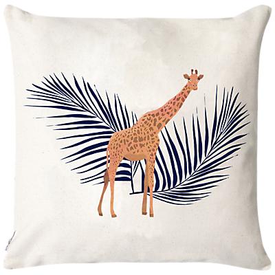 Fenella Smith Giraffe & Palm Cushion