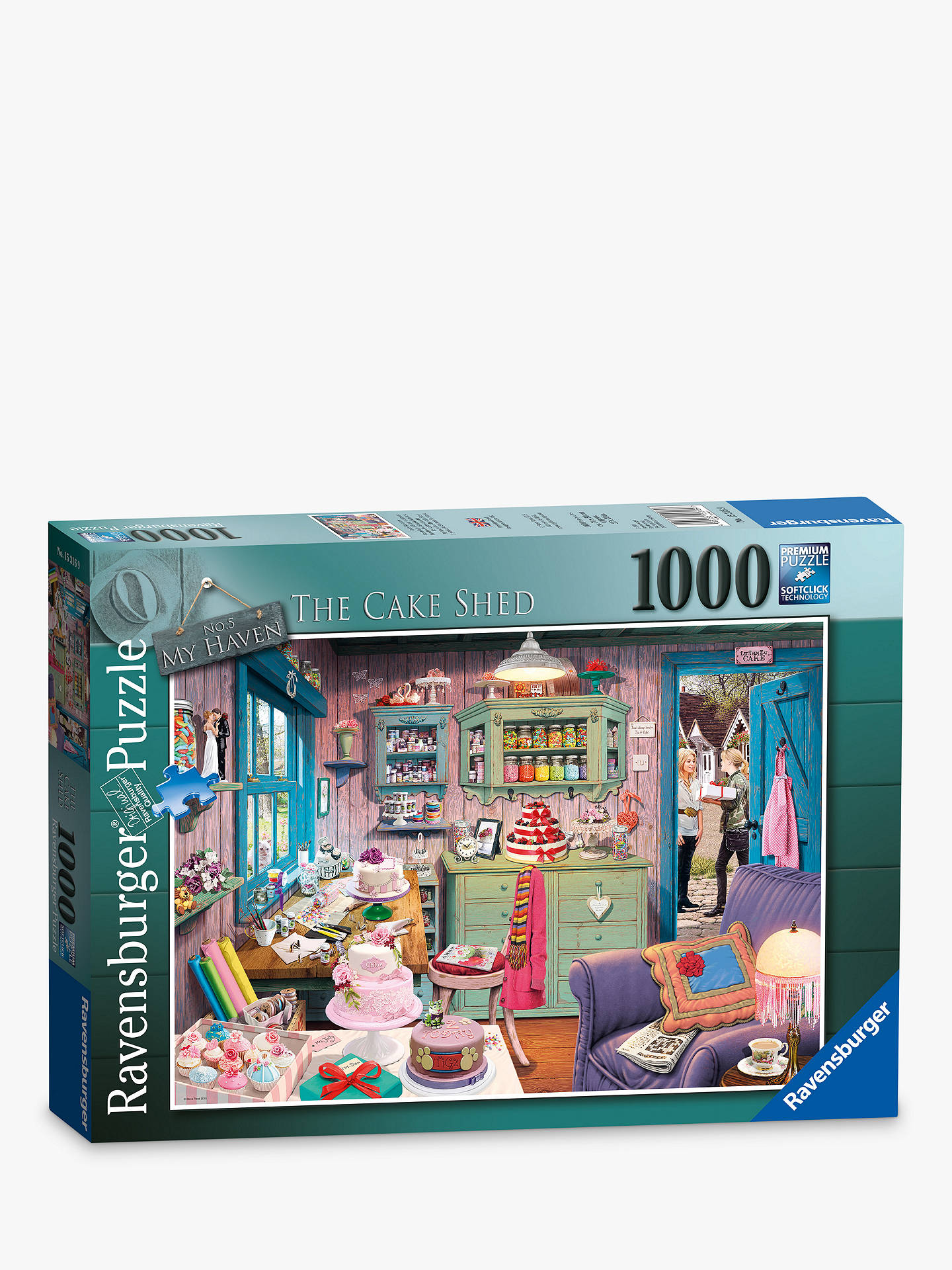 Buy Ravensburger The Cake Shed Jigsaw Puzzle, 1000 pieces Online at johnlewis.com