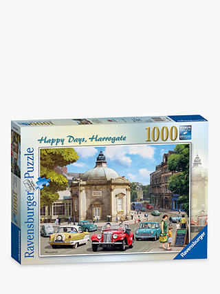 Buy Ravensburger Harrogate Happy Days Jigsaw Puzzle, 1000 Pieces Online at johnlewis.com