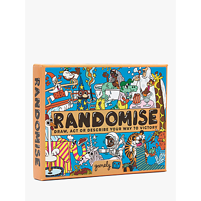 Image of Gamely Ltd Randomise Card Game
