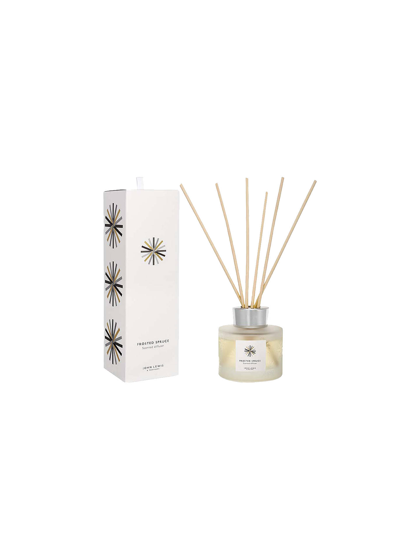 Buy John Lewis & Partners Frosted Spruce Moonstone Reed Diffuser, 120ml Online at johnlewis.com