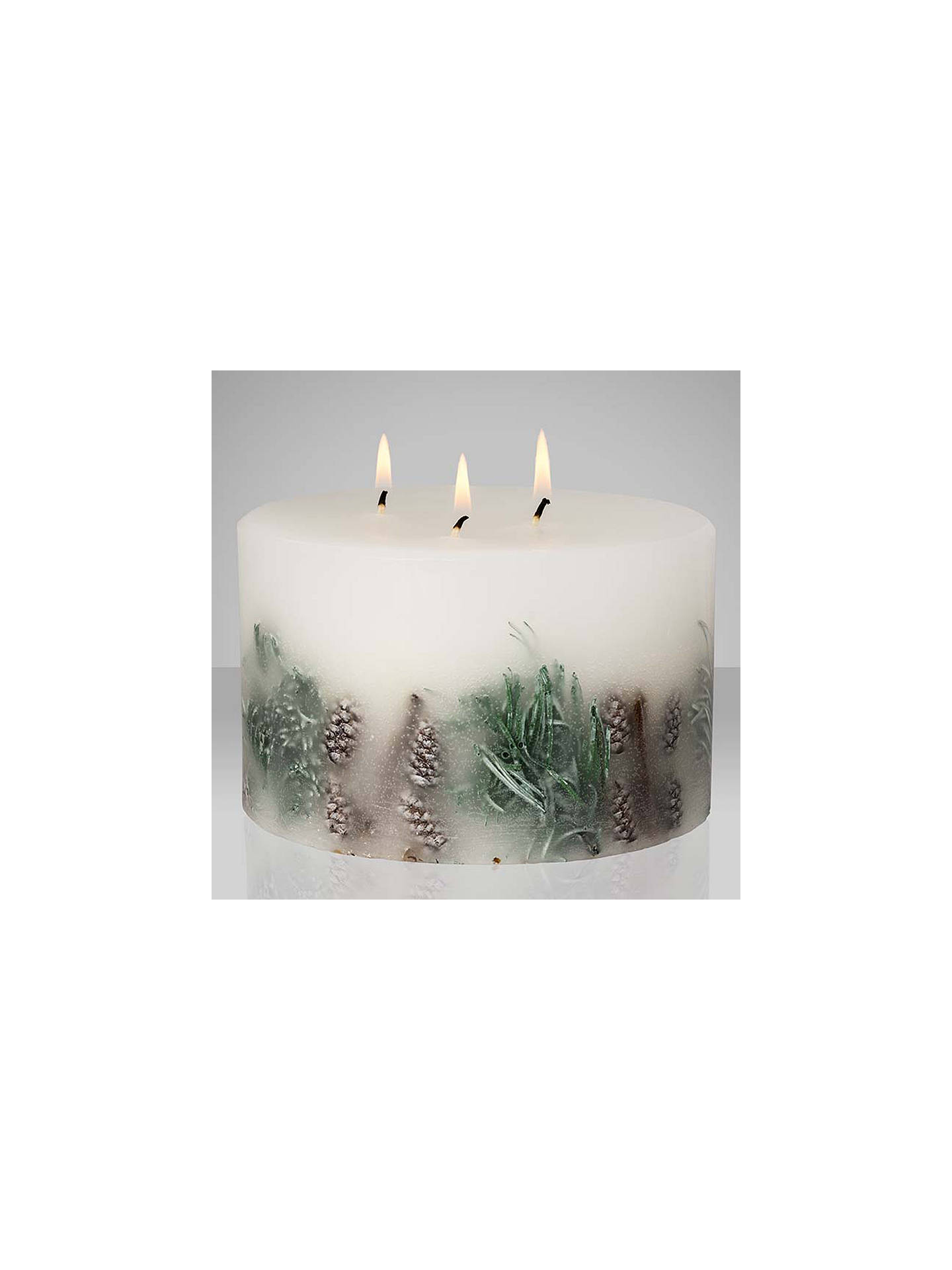 Groovy John Lewis Partners Frosted Spruce 3 Wick Inclusion Scented Funny Birthday Cards Online Inifofree Goldxyz