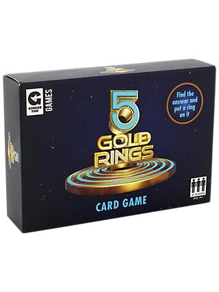 Ginger Fox 5 Gold Rings Card Game