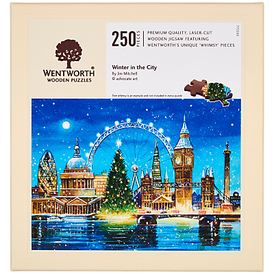 Image of Wentworth Wooden Puzzles Winter In The City Jigsaw Puzzle, 250 Pieces