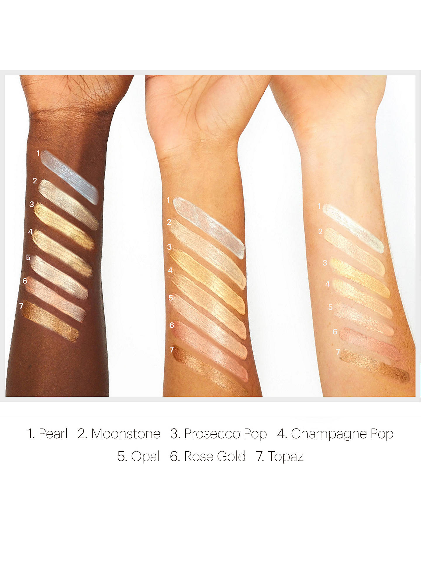 BuyBECCA Shimmering Skin Perfector™ Liquid Highlighter, Opal Online at johnlewis.com