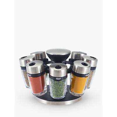 Cole & Mason 8 Jar Filled Spice Rack Carousel