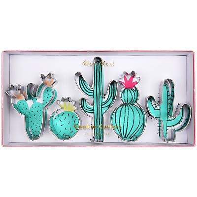 Image of Meri Meri Cactus Cookie Cutters, Set of 5