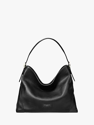 Aspinal of London Small Leather Hobo Bag