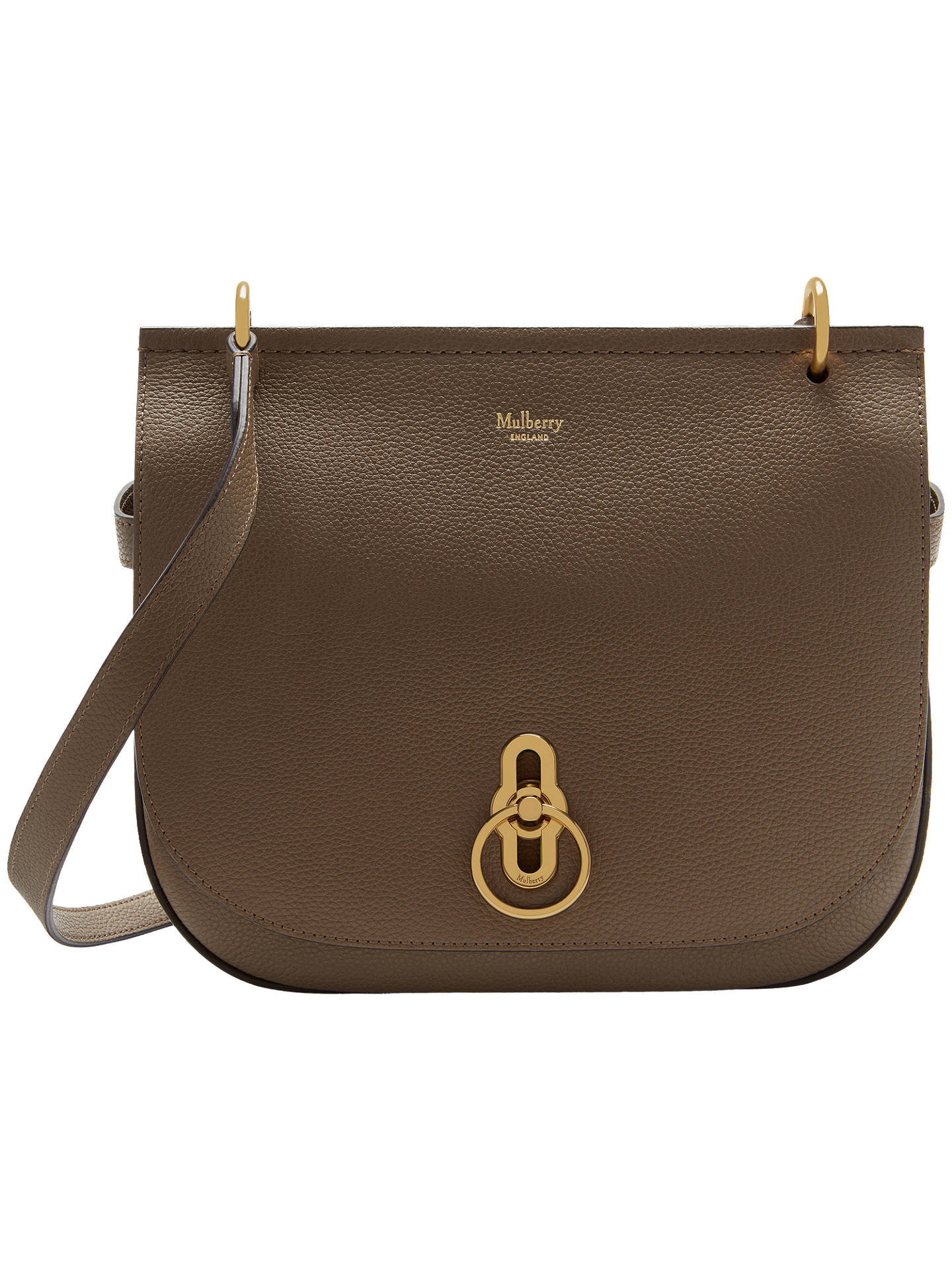 3cc927cc12ae Mulberry Amberley Classic Grain Leather Satchel at John Lewis   Partners