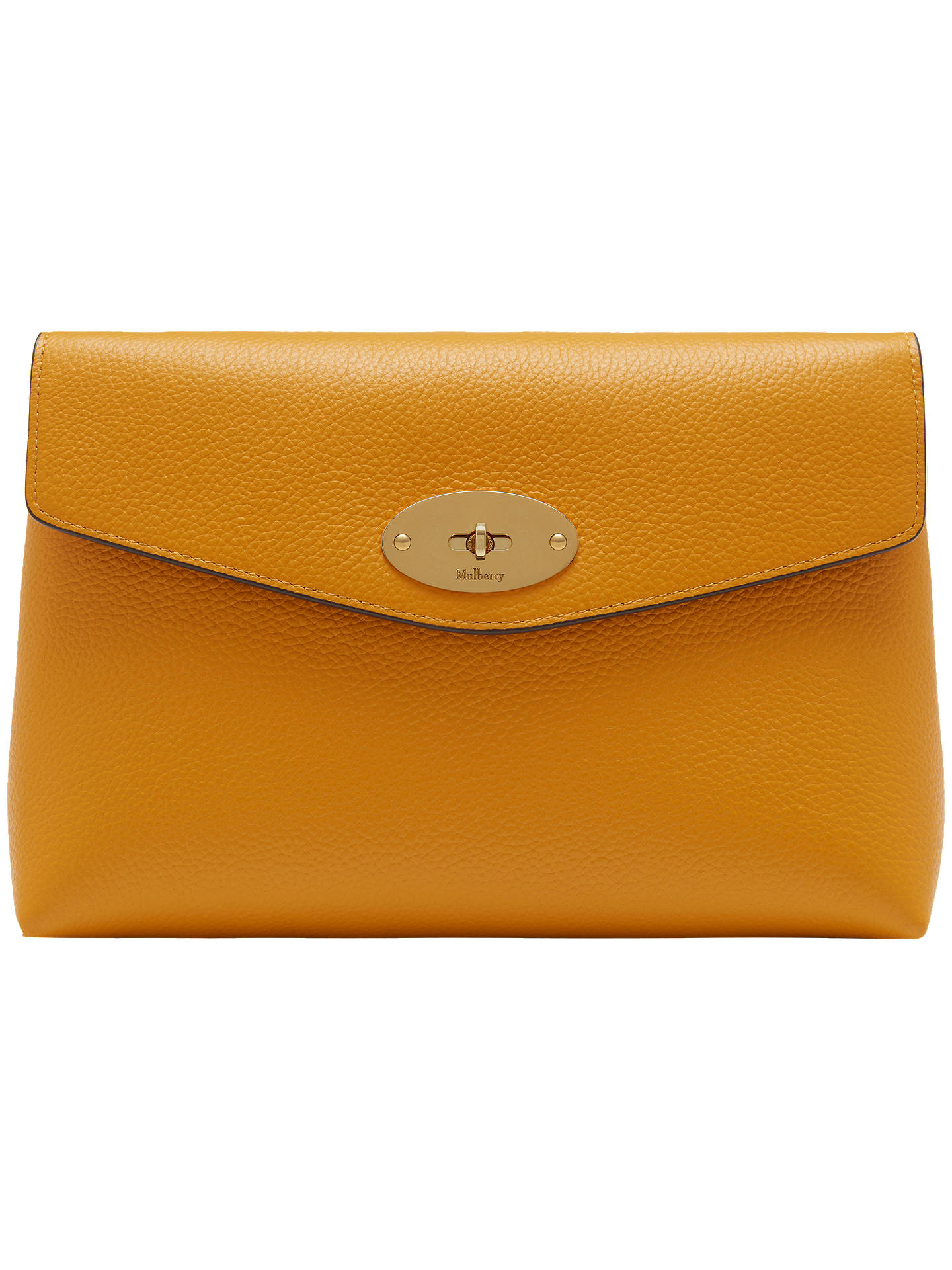 0c590dd40b netherlands mulberry yellow leather handbag lily a6498 f756c; get  buymulberry darley small classic grain large cosmetics pouch deep amber  online at ...