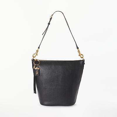 Coach Duffle Leather Shoulder Bag