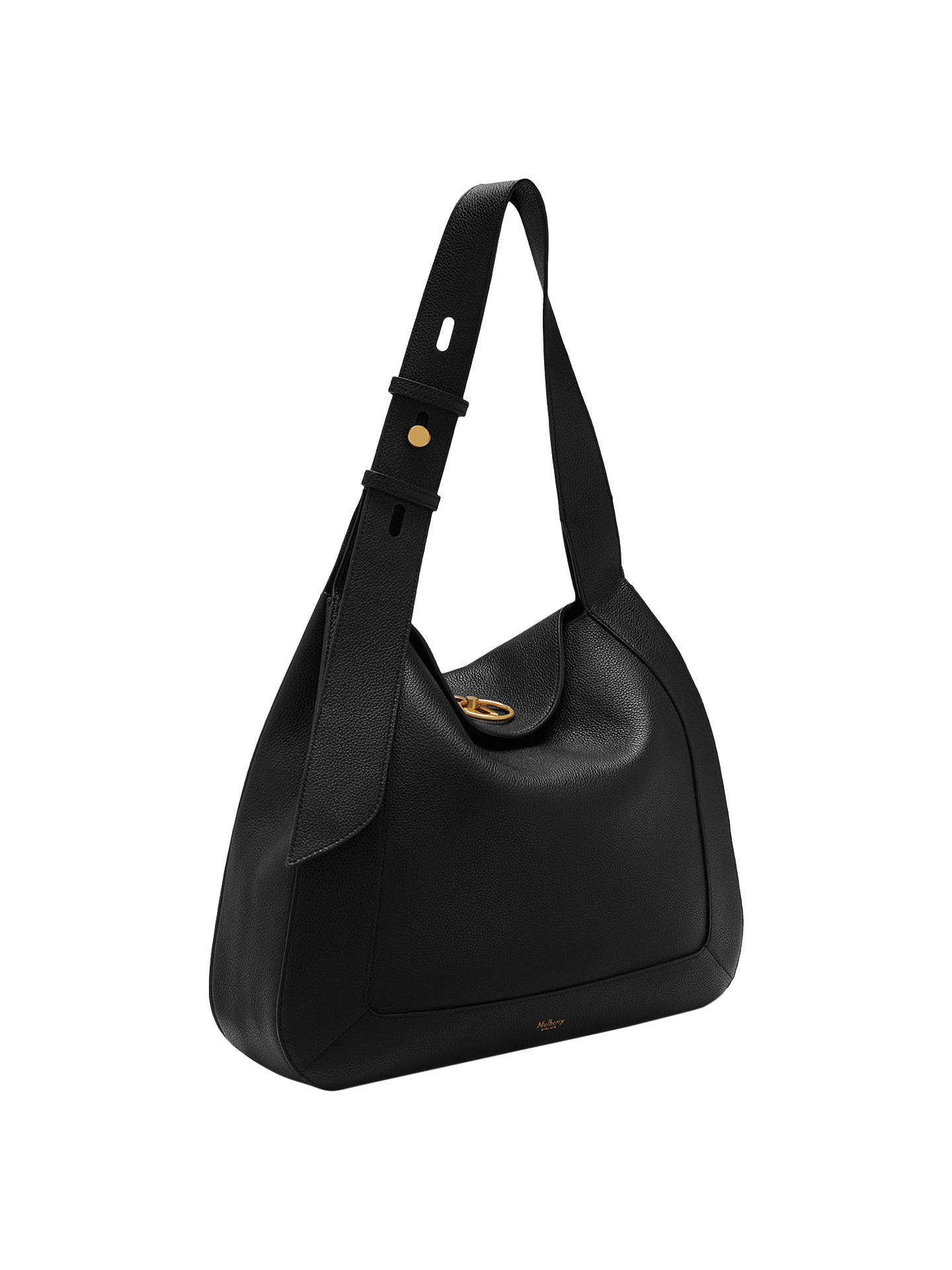 fc2ed588e70 release date buymulberry marloes small classic grain leather hobo bag black  online at johnlewis 4786a 9f983