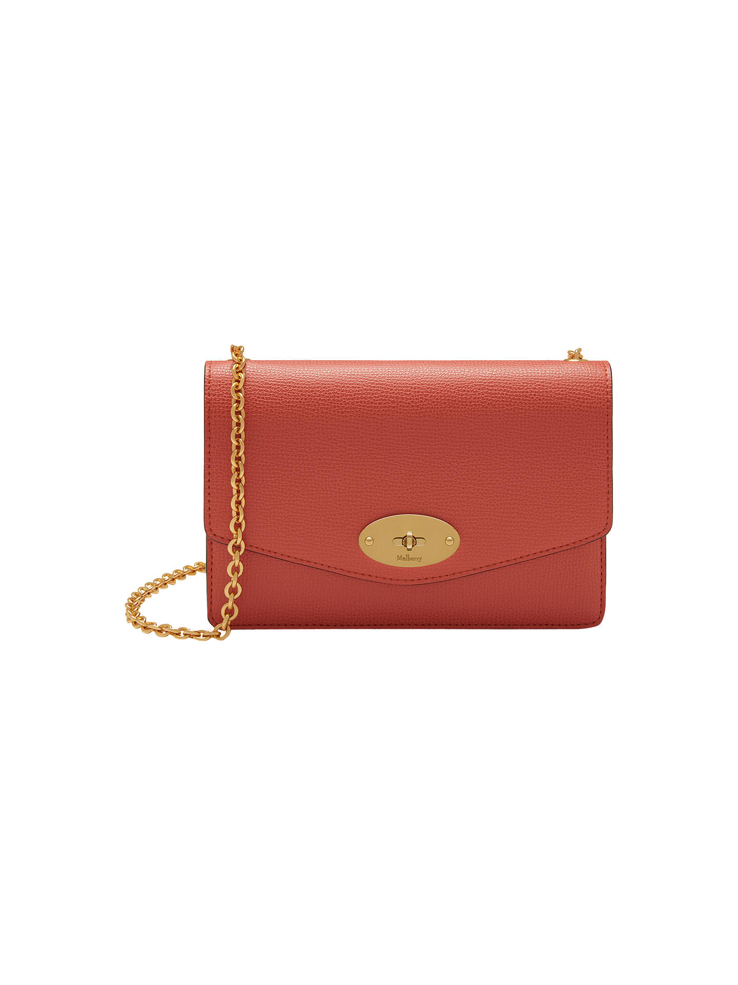 6cf4fc7a58fe Mulberry Darley Small Grain Leather Cross Body Bag at John Lewis ...