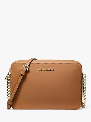 MICHAEL Michael Kors Crossbodies Leather East / West Cross Body Bag