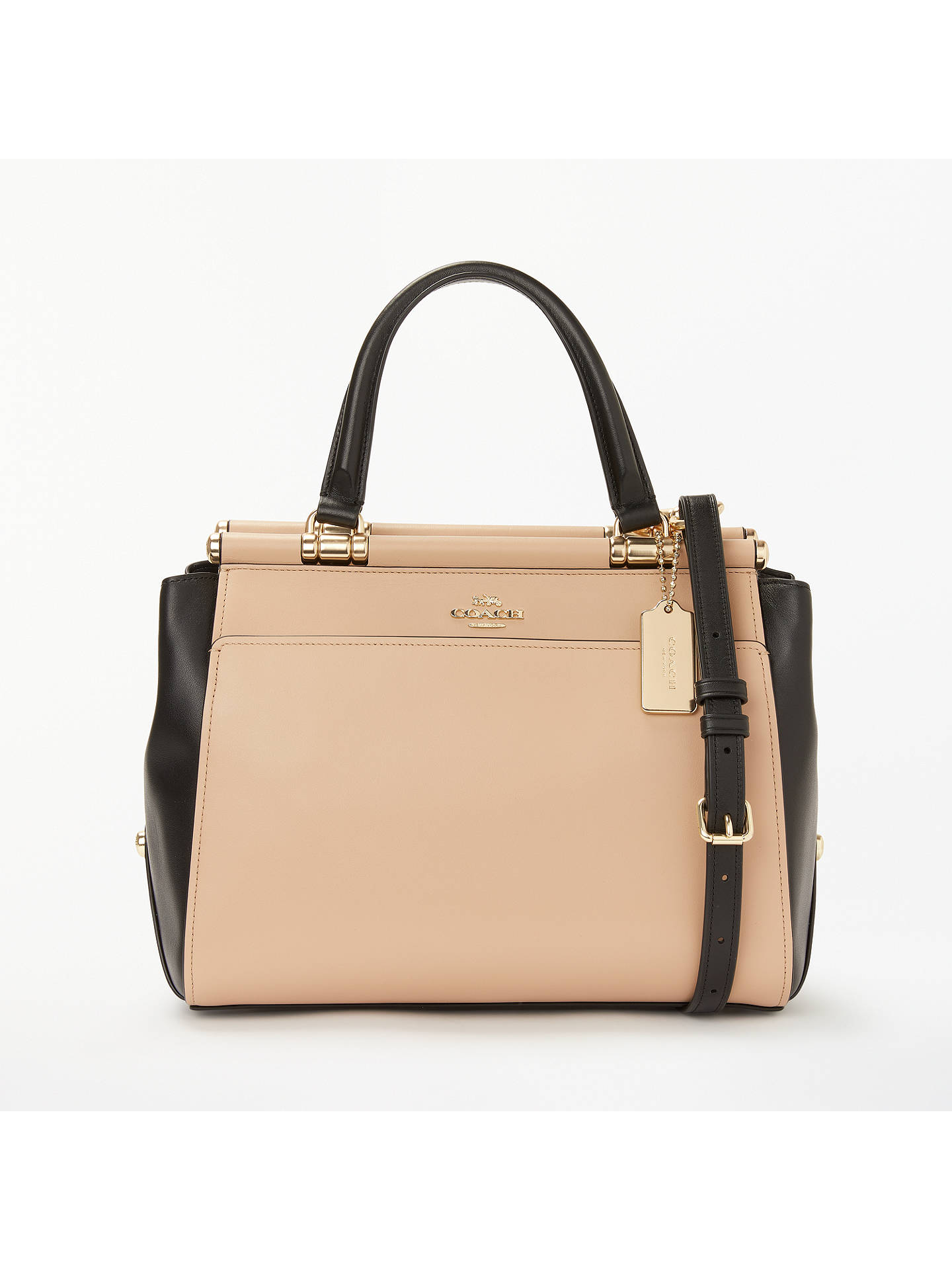 1d847848873 Buy Coach Grace Leather Cross Body Bag, Beechwood Online at johnlewis.com  ...