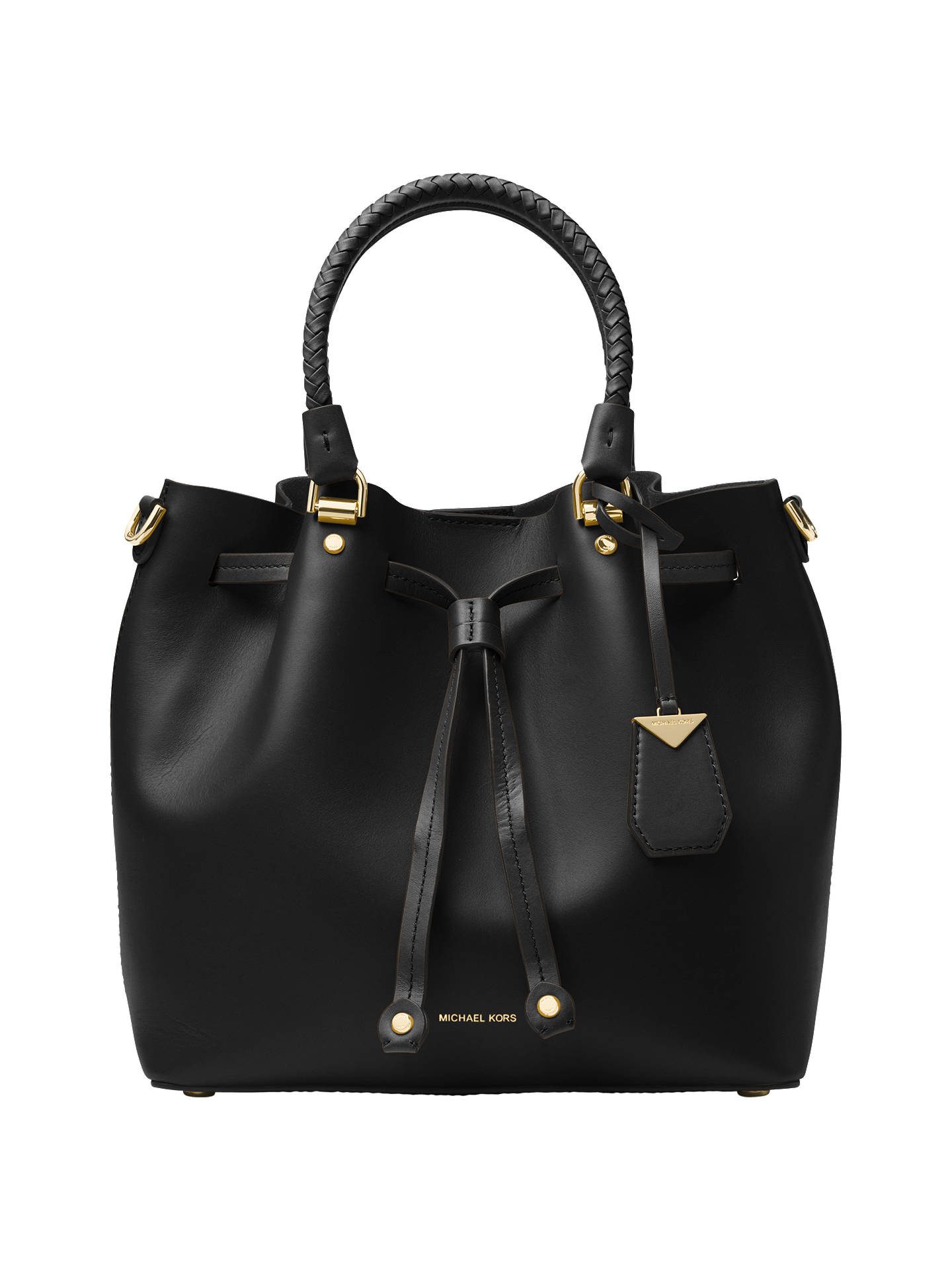 40e021bc8ccae MICHAEL Michael Kors Blakely Leather Bucket Bag at John Lewis   Partners