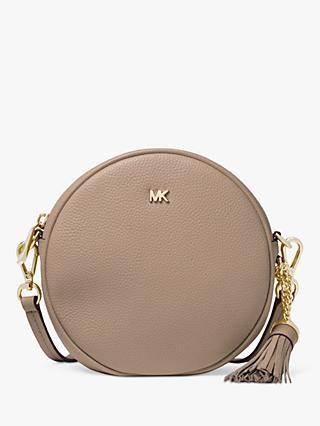 b26242bee133 MICHAEL Michael Kors Canteen Leather Cross Body Bag