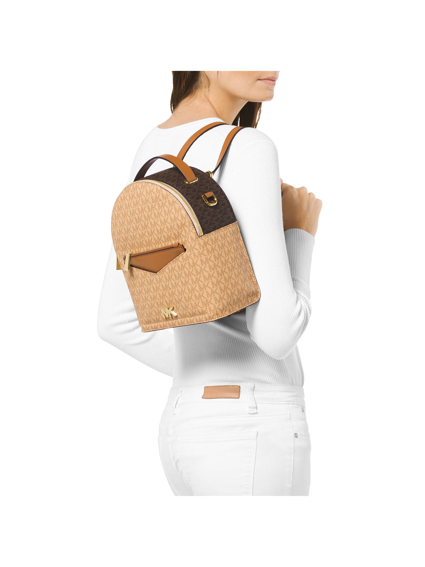 0c489f1b8b76 ... Buy MICHAEL Michael Kors Jessa Small Logo Backpack