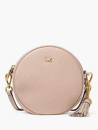 a457c31eeef4 MICHAEL Michael Kors Canteen Leather Cross Body Bag