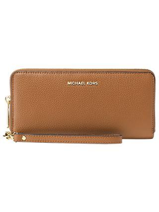 Michael Kors Money Pieces Leather Continental Purse
