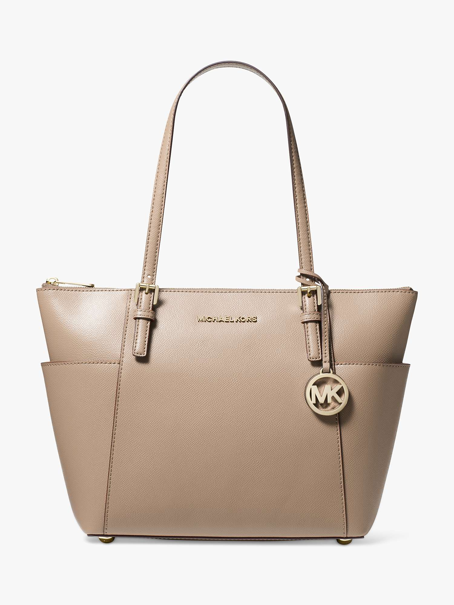 search for clearance biggest discount highly coveted range of MICHAEL Michael Kors Jet Set East/West Leather Tote Bag ...