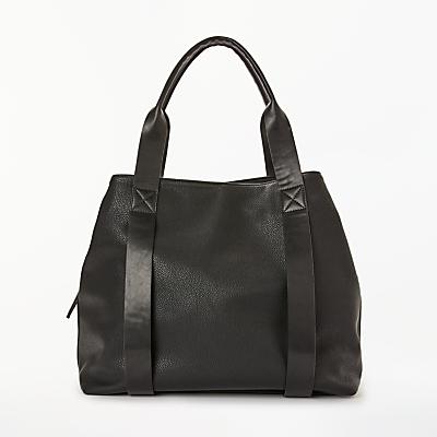 Kin Erika Three Section Tote Bag, Black