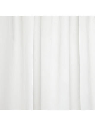Buy ANYDAY John Lewis & Partners Basics Brushed Polyester Shower Curtain Online at johnlewis.com
