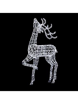 john lewis partners proud reindeer led christmas light extra large
