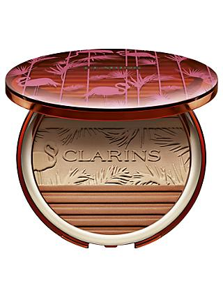 Clarins Bronzing and Blush Compact Limited Edition, Multi