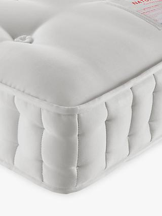 John Lewis & Partners Natural Collection Leckford Linen 5000 Ortho Support, Super King Size, Medium Tension Pocket Spring Mattress