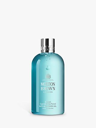 Molton Brown Coastal Cypress & Sea Fennel Bath & Shower Gel, 300ml