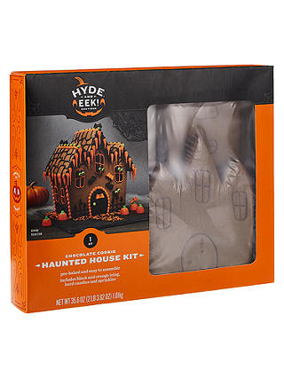 Buy Build Your Own Crooked Chocolate House Cookie Kit, 880g Online at johnlewis.com