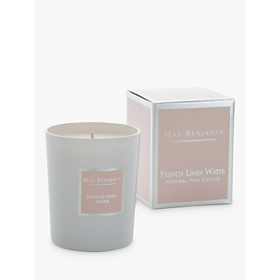 Max Benjamin Classic French Linen Scented Candle