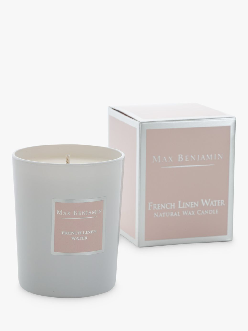 Stoneglow Max Benjamin Classic French Linen Scented Candle