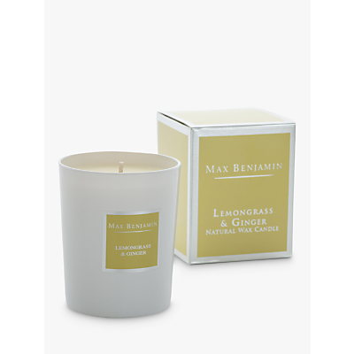 Max Benjamin Classic Lemongrass & Ginger Scented Candle