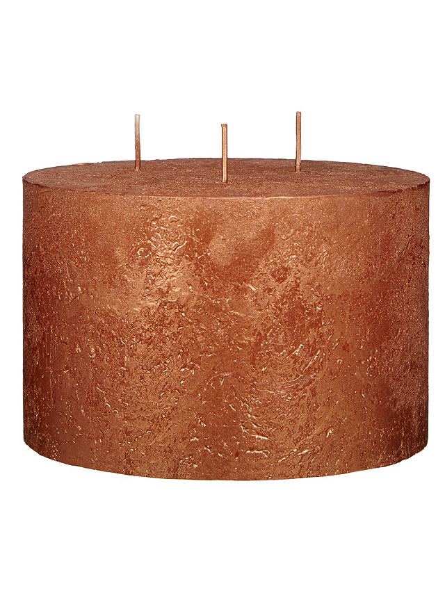 Buy John Lewis & Partners 3 Wick Candle, Copper Online at johnlewis.com