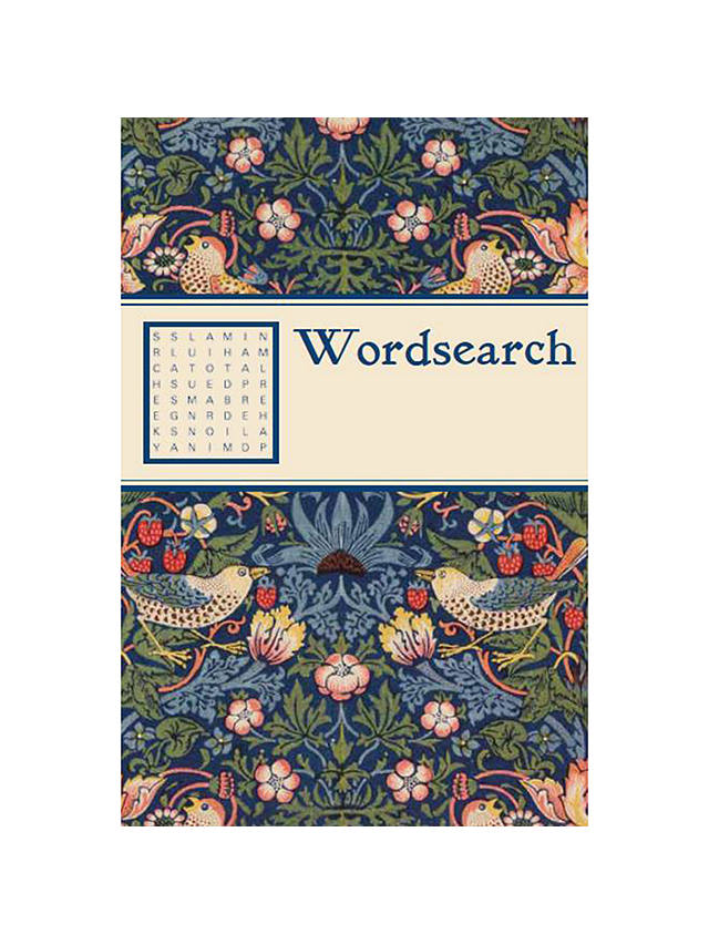 Buy V&A William Morris Print Strawberry Thief Wordsearch Book Online at johnlewis.com