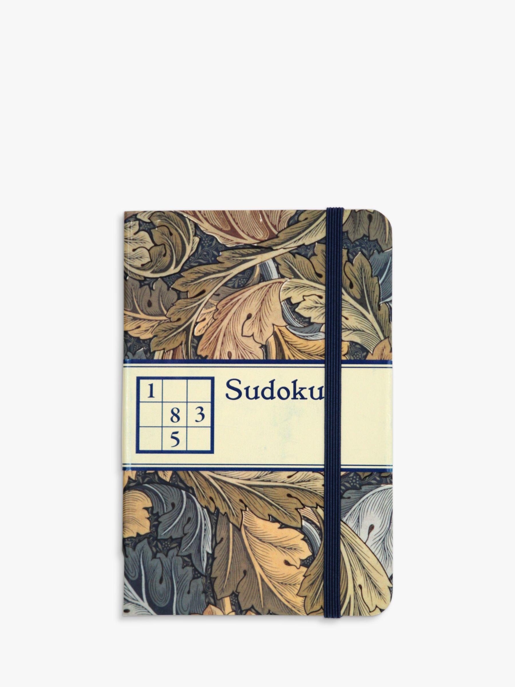 V&A V&A William Morris Print Acanthus Suduko Book