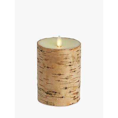 Luminara Birchwood Pillar Candle