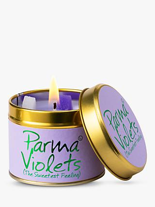 Lily-flame Parma Violets Scented Tin Candle, 230g