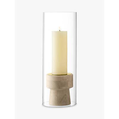 LSA International Mistral Oak Candleholder