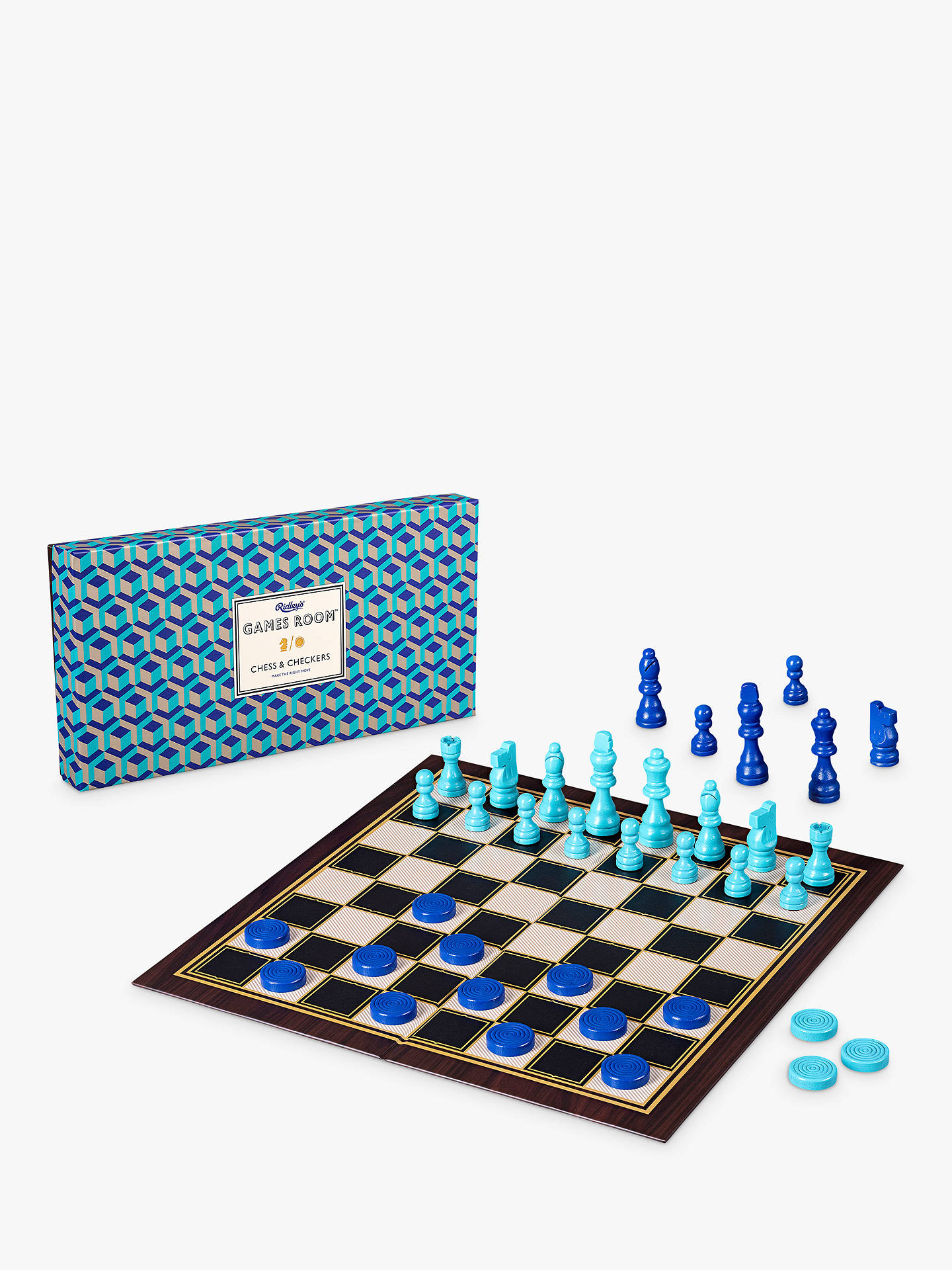 BuyRidley's Chess & Checkers Game Online at johnlewis.com