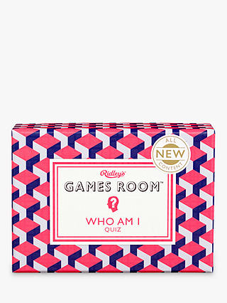 Buy Ridley's Games Room Who Am I Quiz Online at johnlewis.com