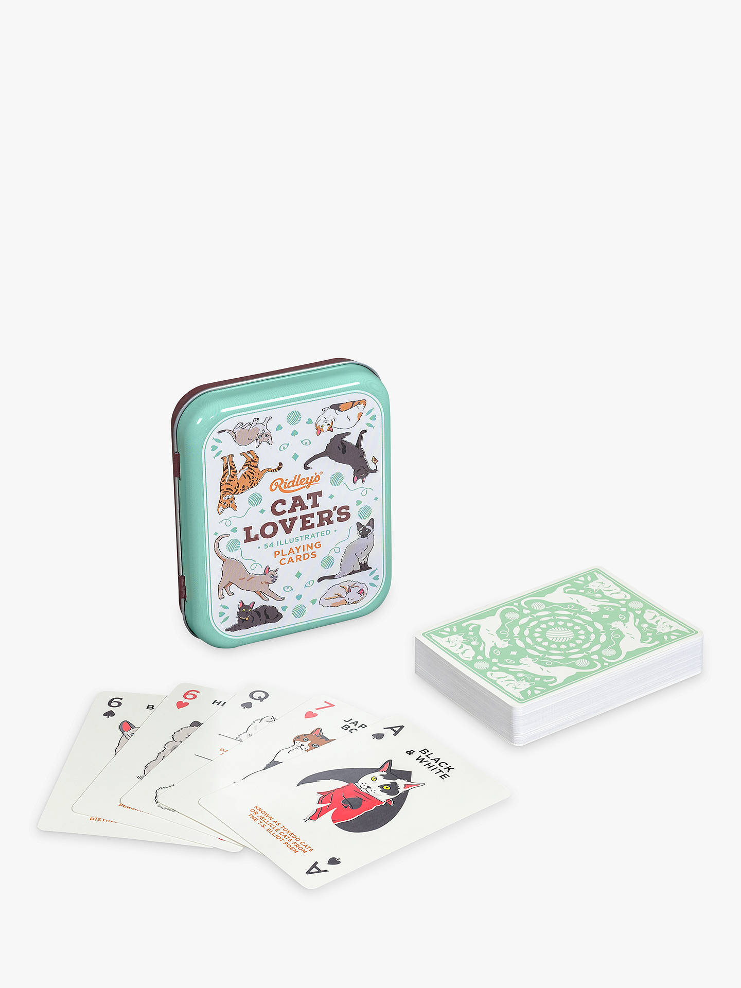 BuyRidley's Cat Lovers Playing Cards Online at johnlewis.com