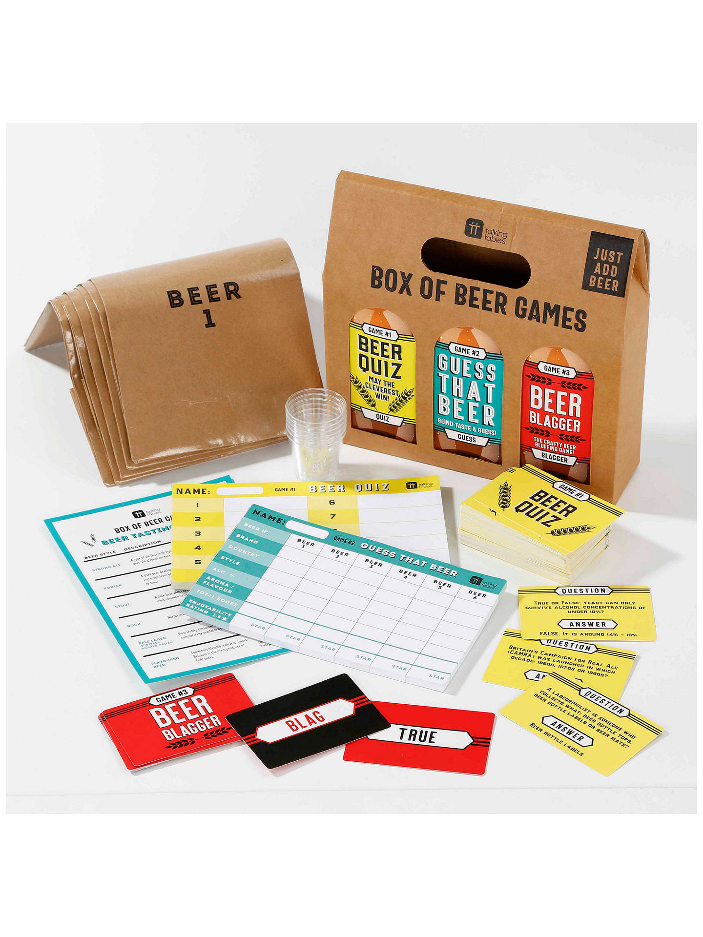 Buy Talking Tables Craft Beer Games Online at johnlewis.com